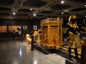 """La Alcaldía de Caracas de la mano con el Gobierno del Distrito Capital, inauguró este sábado la """"Exposición Momias Tutankamón"""", en el Museo de Bellas Artes."""