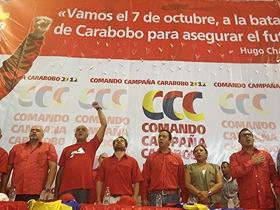 Chávez le saca más de 22 puntos en Carabobo al majunche, aseguró Rodríguez