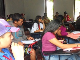 Con esta actividad el IMJC se propone garantizar la formación de jóvenes caraqueños para contribuir a los gobiernos parroquiales y así consolidar desde la juventud al Plan de la Caracas Socialista.