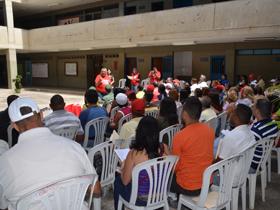 Este sábado se llevó a cabo el encuentro de Gobiernos Parroquiales del Circuito 5 (La Vega, Macarao, Caricuao, Antimano y El Paraiso), en el Colegio Luis Razetti