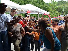 Keila Salazar, miembro del Partido Socialista Unido de Venezuela (PSUV),resaltó que esta panadería comunal es la número 37 en el país.