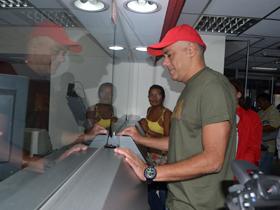 Jorge Rodríguez, brindó ejemplo a todo el pueblo venezolano, al respaldar al Partido Socialista Unido de Venezuela (Psuv), con un aporte de un día de salario para la campaña