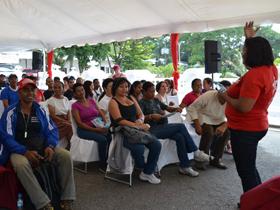 Fanelly Meza, informó que la actividad realizada en el Museo Villa Zoila, corresponde a unas mesas de trabajo