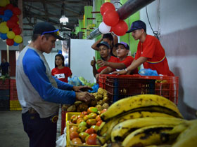 """Wilfredo Jiménez, Enlace Parroquial, manifestó que """"Lo importante es, garantizar la soberanía alimentaria para la nueva sociedad que queremos construir""""."""