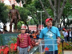 Durante el evento, el Alcalde de Caracas, Jorge Rodríguez destacó que la lucha por el espacio recuperado comenzó desde la organización comunitaria