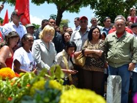 El Alcalde de Caracas, Jorge Rodríguez, expresó que,los revolucionarios de ayer y de hoy luchan por el futuro de Venezuela