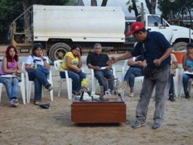 Este lunes se realizó una asamblea comunitaria en la Plaza Bolívar, con el fin de evitar que el sitio sea mal utilizado