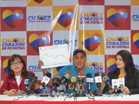 El jefe del Comando de Campaña Carabobo, Jorge Rodríguez dio a conocer los últimos resultados que proporcionó el Grupo de Investigación Social XXI (GIS XXI)