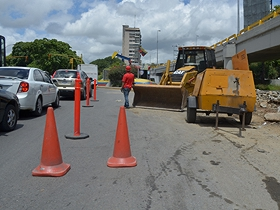 La construcción de tramos de rutas de ciclovía ya inició.