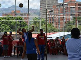 La Alcaldía de Caracas estuvo presente en el Polideportivo La Veguita