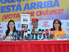 """El jefe de campaña resaltó que, entre las cartas que tiene la derecha para estas elecciones del 7 de octubre está """"la desmovilización de nuestras fuerzas, del pueblo de Venezuela"""""""