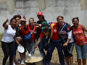 En Casalta  III parroquia 23 de Enero, convergieron instituciones como el IAFE, INAMU, IMDERE, INTT y la Alcaldía de Caracas