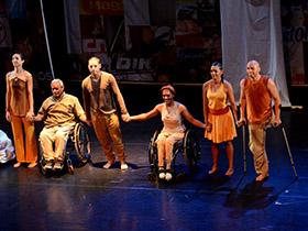Am Compañía de Danza de Habilidades Mixtas  sorprendió con su novedosa puesta de escena en la Sala Juana Sujo de la Casa del Artista.